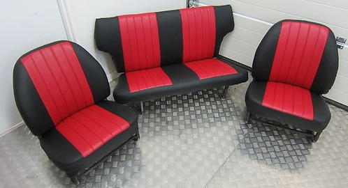 Maß- Schonbezüge Trabant 601 Sitze komplett wie orginal