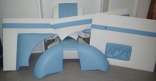 SET 3 Bild 2 Trabant Sitze 500 und 600 komplett wie original Kunstleder