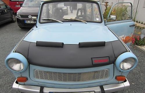Haubenbra Steinschlagschutz Motorhaube Trabant 601